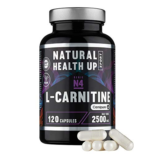 L-Carnitina (Carnipure) Natural Health Up para el entrenamie