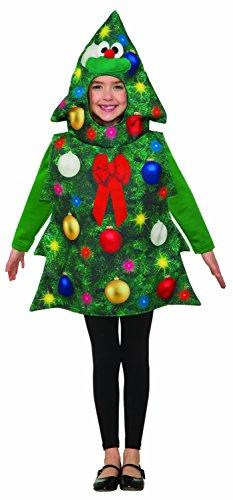 Forum Novelties Child's Christmas Tree Costume, Standard