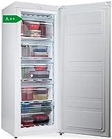 premiertech congelatore verticale freezer 153 litri -24°gradi a++ 4**** stelle 3 cassetti e 2 sportelli (bianco) pt-fr153