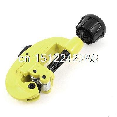 3 Mm-32 mm 1/20,3 cm -15/40,6 cm de coupe pivotant Bouton tubes Pipe Cutter Outil Jaune Noir