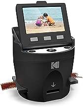 KODAK SCANZA Digital Film & Slide Scanner - Converts 35mm, 126, 110, Super 8 & 8mm Film Negatives & Slides to JPEG - Includes Large Tilt-Up 3.5