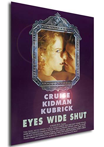 Instabuy Poster Eyes Wide Shut Vintage Locandina - Formato (42x30 cm)
