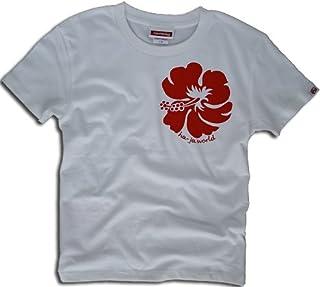 ハイビスカス Ladies サーフTシャツ