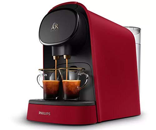 Philips L'Or Barista roja Cafetera de cápsulas doble carga automática