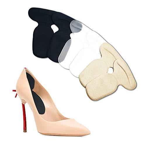 Fersengriffe Fersenpolster Silikon-Fersenpolster-Einsätze Anti-Rutsch-Ferseneinsätze Schmerzlindernder Fersenschutz für Damenschuhe Große Schuhe Neue Schuhe- 3 Paare