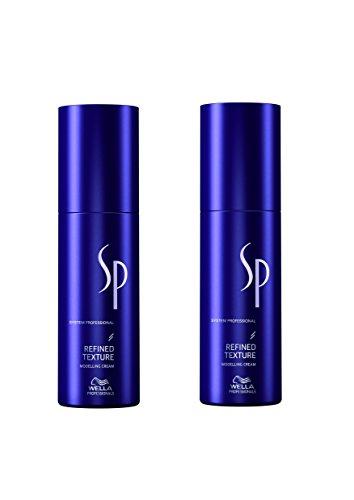 Wella SP System Professional Refined Texture Modellier Haar Creme 2x 75 ml