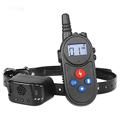 YIZHIGOU Anti-Bell-Halsbänder mit Echtzeit-Gegensprechanlage, Anti-Bell-Hundehalsbände mit 1000M Fernbedienung,Kann tauchen Erziehungshalsband Hund