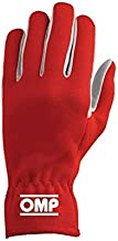 OMP Racing X-Large Red Single Layer Rally Driving Gloves P/N IB702RXL