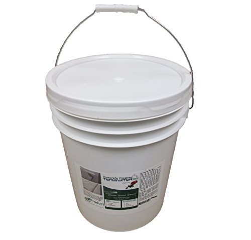 Terminator-HSD Eco-Friendly Bio-Remediates and Removes Oil & Grease Stains on Concrete and Asphalt Driveways, Garages, Pavers, Patios, Parking Lots, Streets and Warehouses(50 LB)