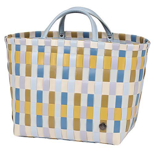 Handed By - Shopper, Tasche, Einkaufstasche - Multitone Shopper - Kunststoff - senf/gelb - 27x30x30cm