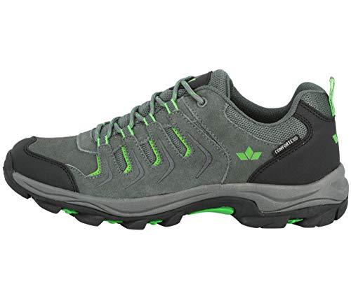 Lico Outdoor-& Trekkingschuh, de Plein air Mixte Adulte, Anthracite/Noir/Vert, 46 EU