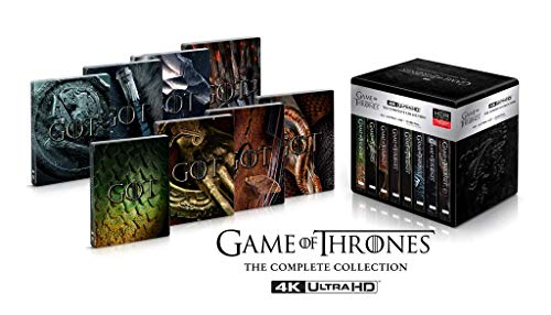 Game Of Thrones - Die komplette Serie (limited Steelbook Collection) UHD [Blu-ray]