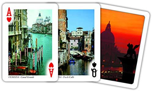 Modiano- Juego de Cartas turísticas de la Ciudad de Venecia (304411)