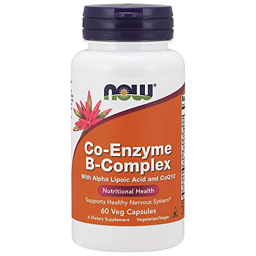 Now Foods Co-Enzyme B-Komplex-Vitamine 60 Retardkapseln