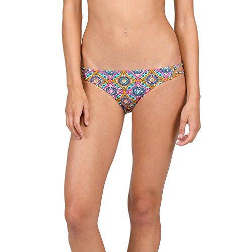 Volcom Bikini Current State Bikini Mujer, Mujer, Current State Bikini Hose Damen, Multicolor, S