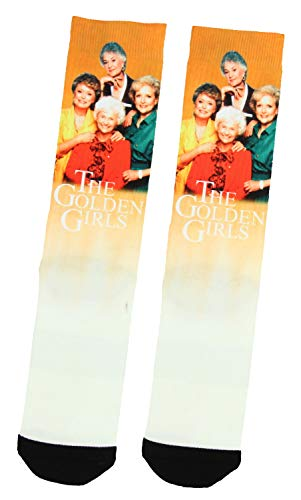 The Golden Girls Character Photo Adult Sublimated Crew Socks
