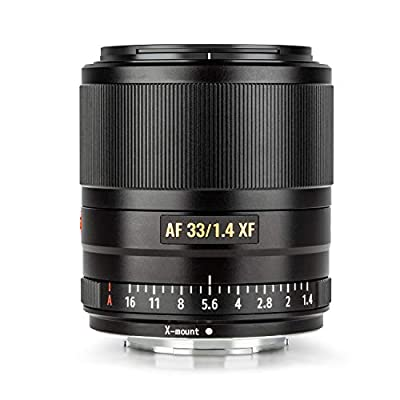 VILTROX 33mm 1.4 fujifilm AF 33mm F1.4 XF Auto Focus Fixed Focus Lens for Fujifilm Fuji X-Mount Camera X-T3 X-T2 X-H1 X20 X-T30 X-T20 from Shenzhen Jueying Technology Co., Ltd.