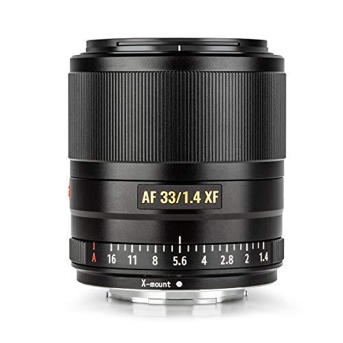 VILTROX 33mm AF f1.4 Primo Obiettivo Messa a Fuoco Auto APS-C Compact Lente Apertura Grande per Fujifilm X monte Camera X-T3 X-H1 X20 T30 X-T20 X-T100 X-Pro2