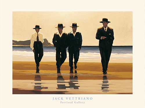 Jack Vettriano Poster/Kunstdruck The Billy Boys 50 x 40 cm