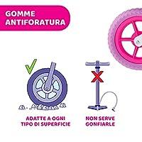 Chicco Pink Comet Bicicletta Bambini Senza Pedali 2-5 Anni, Bici Senza Pedali Balance Bike per l'Equilibrio, con Manubrio e Sellino Regolabili, Max 25 Kg, Rosa, Giochi Bambini 2-5 Anni #5
