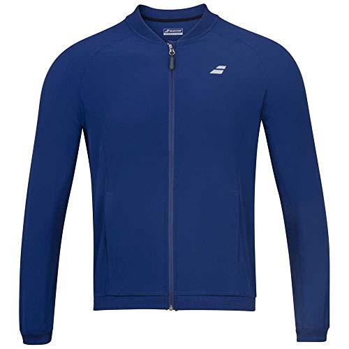 Babolat Women's Play Tennis Training Jacket, Estate Blue (US Size X-Large)