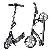 Apollo Scooter - Hurricane City Scooter, 230 mm Giant XXL Wheel con suspensión, City Roller Plegable y Ajustable en Altura, Kick Scooter para Adultos y niños