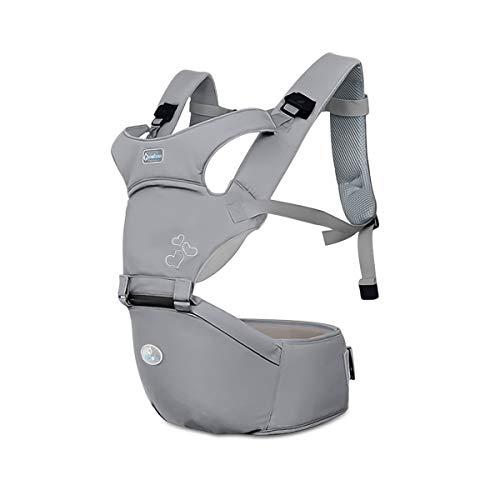 SONARIN Front Premium Hipseat Porte-bébé Baby Carrier, multifonctionnel, ergonomique, 100% coton,...