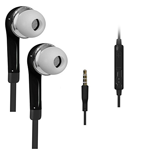 Preisvergleich Produktbild C63 SCHWARZ Kopfhörer 3, 5 mm in Ear Stereo In-Ear für Apple iPhone 6,  iPhone 6 Plus,  Ipod Touch,  IPHONE 4,  4S,  5,  5S,  5 C,  iPad Air,  iPad Mini MP3 und MP4 Player,  DVD-Player,  TV,  Kopfhörer.