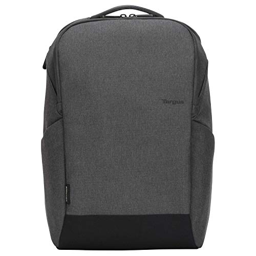 Targus Cypress Slim Backpack with EcoSmart Designed for Business Traveler and School fit up to 15.6-Inch Laptop/Notebook, Light Gray (TBB58402GL)