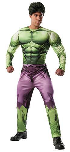 Rubie's Men's Marvel Universe Adult Deluxe Hulk Costume, Multi, X-Large