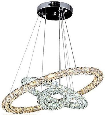 Platinum Crystal Falls LED 34 inch Polished Nickel Island Chandelier Ceiling Light