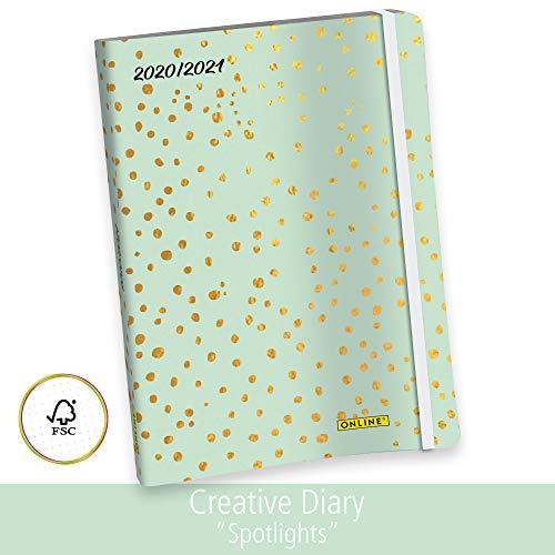 Online - Agenda semanal 2020/2021, Creative Diary