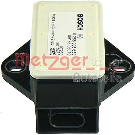 Metzger 0900578 Original Ersatzteil Sensor Längs Querbeschleunigung Auto