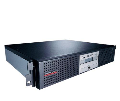 Buffalo TS-RI6.0TGL/R5 TeraStation Pro II NAS-System mit Festplatten 4x1.5TB (4-Bay, iSCSI, SATA II, USB, Ethernet, Raid, Rackmount) schwarz