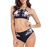 Brovollous Womens Badeanzüge Zweiteilige Bikini-Badeanzüge mit voller Abdeckung Sexy...