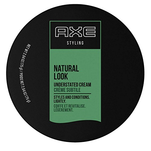 AXE Ax Understated Natural Look Hair Styling Cream 2,64 once (Pack of 8)