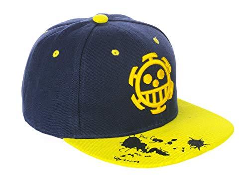 CoolChange Trafalgar Law Baseball Cap   Kappe mit Heart Piratenbande Motiv