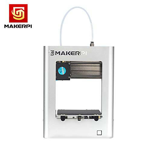 Lepeuxi M1 Desktop Mini 3D Printer Fully Assembled 100100100mm Print Size Aluminum Frame Structure One-Button Printing Smart Leveling Easy Operation with 10m PLA Sample Filament 16G TF Card Best