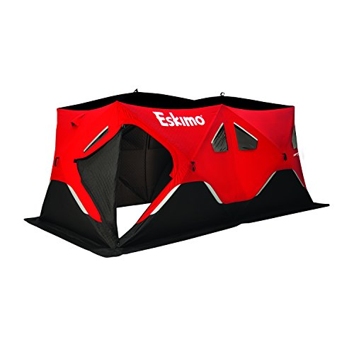 Eskimo FatFish 9416i Insulated Portable Pop-Up Ice Fishing Shelter, 7-9 Person