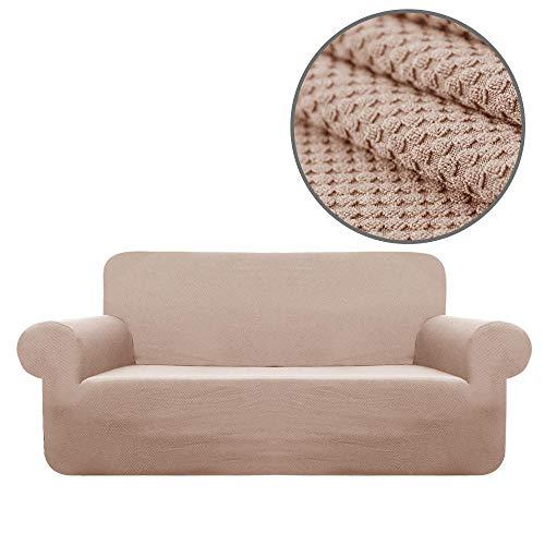 Funda de sofá de Alta Elasticidad,Funda de sofá jacquard de punto universal Four Seasons, funda de cojín de sofá antideslizante elástica, funda de protección contra el polvo de muebles, funda de sofá