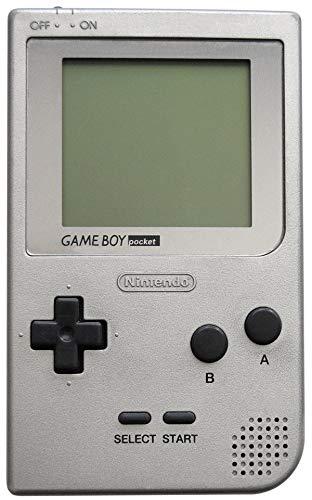 Game Boy Pocket - Gerät silber