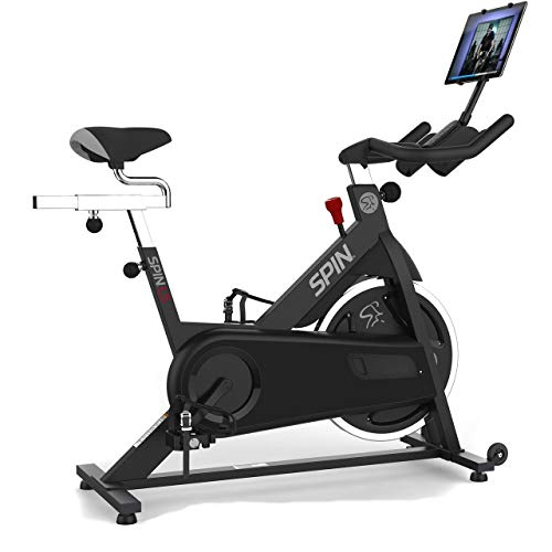 Spinning L5 Chain-Drive Spin Bike Includes Tablet Mount and Cadence...