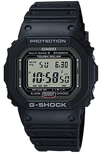 [カシオ] 腕時計 ジーショック 電波ソーラー メタルケース スクリューバック スーパーイルミネータータイプ(高輝度なLEDライト) GW-5000U-1JF メンズ ブラック