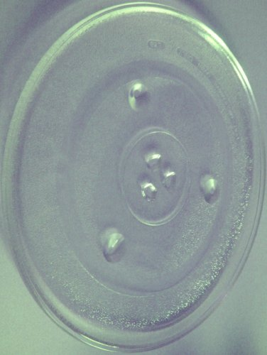 Mikrowellenteller / Drehteller / Glasteller für Mikrowelle # ersetzt Juno-Electrolux Mikrowellenteller # Durchmesser Ø 31,5 cm / 315 mm # Ersatzteller # Ersatzteil für die Mikrowelle # Ersatz-Drehteller # OHNE Drehring # OHNE Drehkreuz # OHNE Mitnehmer