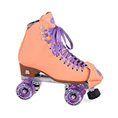 TOP-QUALITY & DURABLE ROLLER SKATES - These roller skates are 100% animal-friendly using dyed vinyl and custom Moxi Dri-Lex lining material. The skates have high-impact Marvel die cast aluminum plates with strong metal trucks for optimal support. EAS...