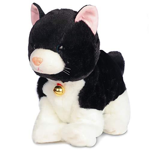 Smalody Peluches, novedoso Control de Sonido Gato electrónico Juguetes interactivos Mascotas electrónicas...