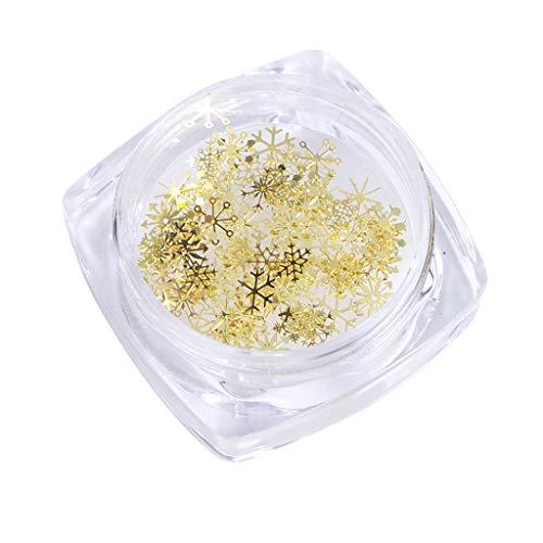 AERVEAL, 90 Piezas de Mini Abalorios de Copos de Nieve Mixtos para Kit de fabricación de Joyas, Relleno de moldes de Resina, Materiales de Relleno de Resina epoxi, Modelo de Relleno
