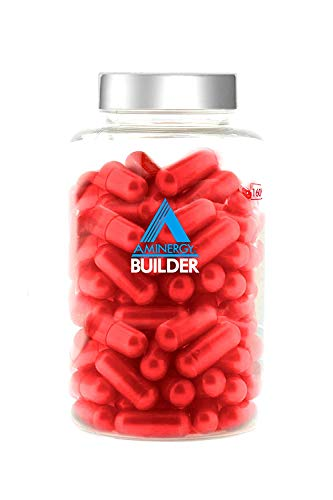 Aminergy-Builder 160 Kapseln - Aminosäuren der Struktur Bipeptid aus Blutplasma Frei von Eisen