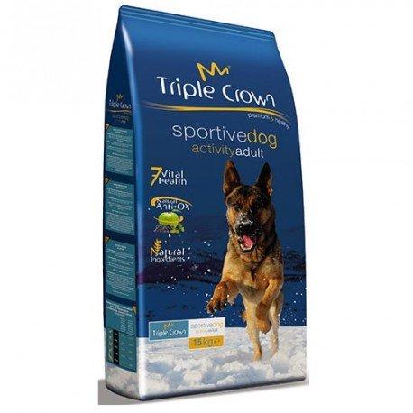 TRIPLE CROWN Pienso para Perros Adultos con Alta Actividad Sportive Dog 15Kg