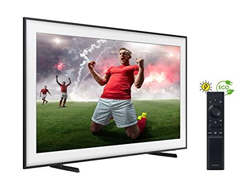 Samsung The Frame QLED 4K 2021 43LS03A - Smart TV de 43', Resolución 4K UHD, Procesador QLED 4K con IA, HDR 10+, One Connect, Cable casi Invisible, SolarCell Remote Control y Alexa integrada